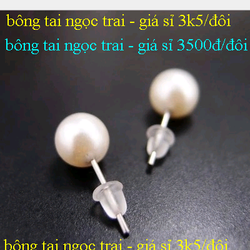 Bông tai râu cá tính 4k/đôi giá sỉ, giá bán buôn