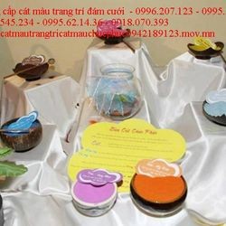 Cát màu chúc phúc 010 trang trí đám cưới hỏi cung cấp cát màu trang trí đám cưới giá rất rẻ giá sỉ, giá bán buôn