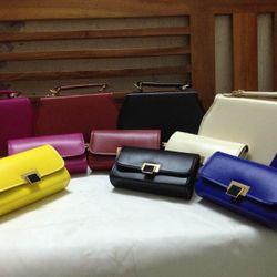 Set túi và ví khóa  lật