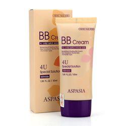 Kem nền bb cream 4u special solution aspasia - hàn quốc giá sỉ
