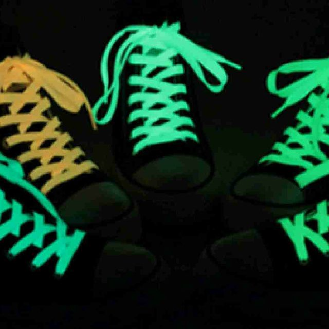 dây giày dạ quang phát sáng trong đêm giá sỉ 10k/cặp 60cm 15k/cặp 80cm