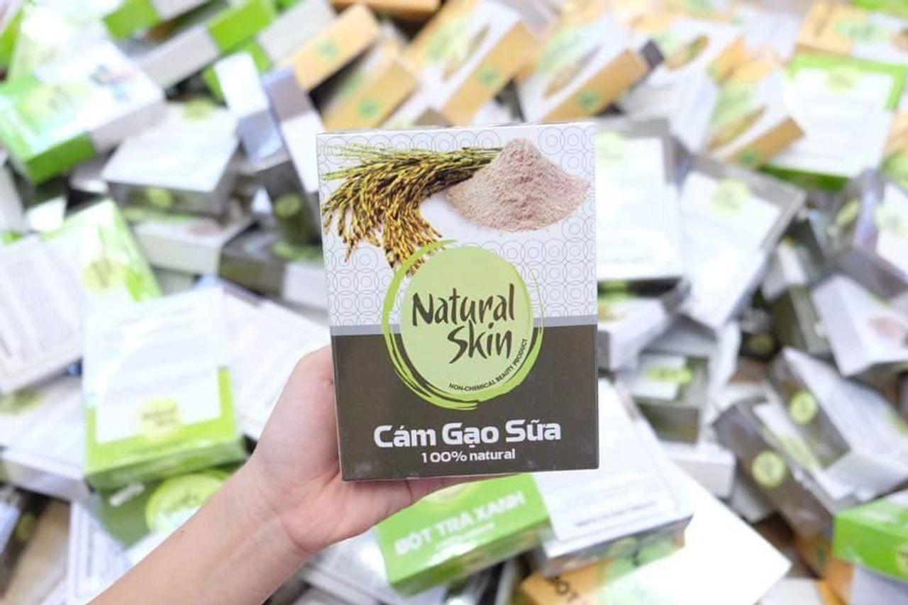 Bột Cám Gạo Naturie Skin Việt Nam 200gr 1