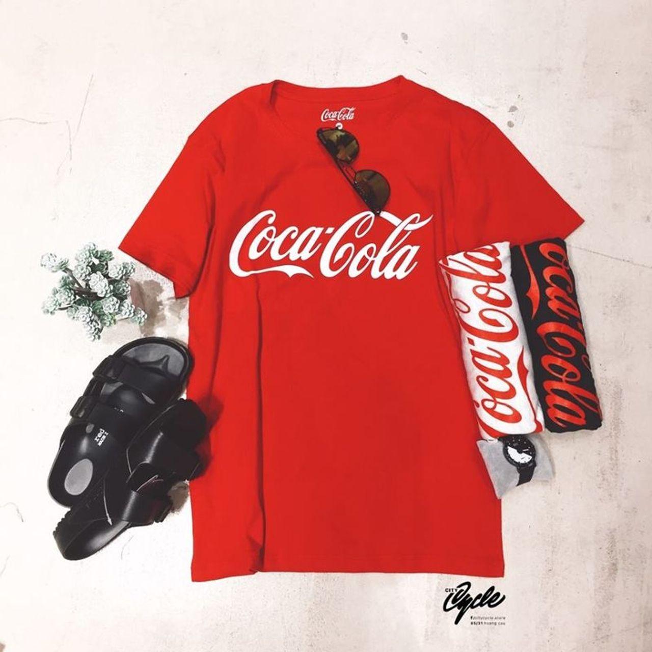 Kết quả hình ảnh cho áo thun coca cola