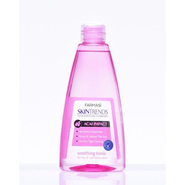 Tonic hữu cơ da khô và da nhạy cảm farmasi skintrends soothing tonic