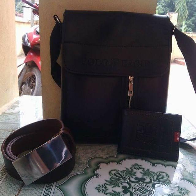 Túi ipad tặng kèm ví da và thắt lưng da giá sỉ, giá bán buôn