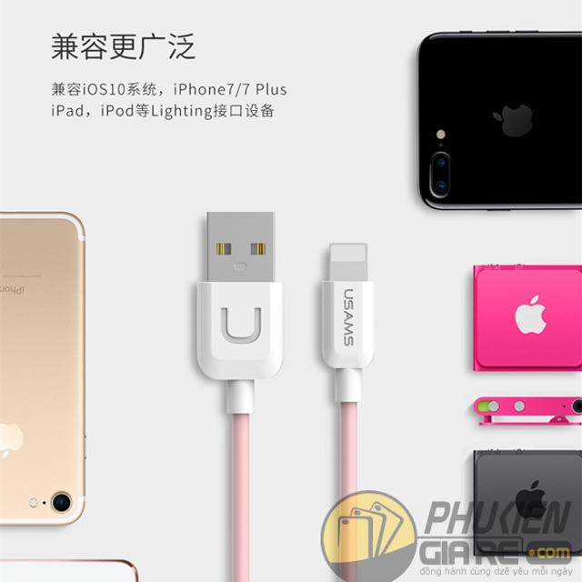 22k - Cáp sạc iPhone USAMS SJ097 chính hãng giá sỉ và lẻ rẻ nhất