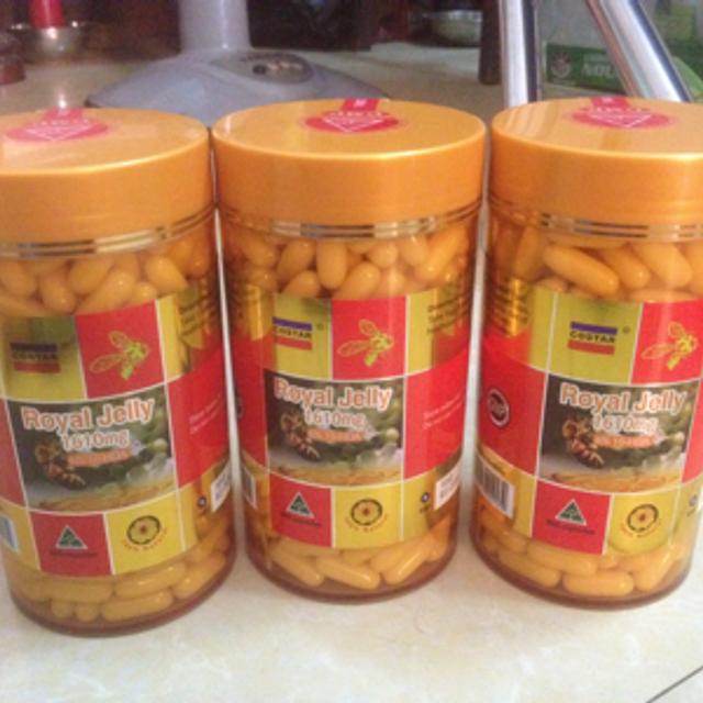 Sữa ong chúa của úc hàm lượng 1610mg365v giá sỉ, giá bán buôn