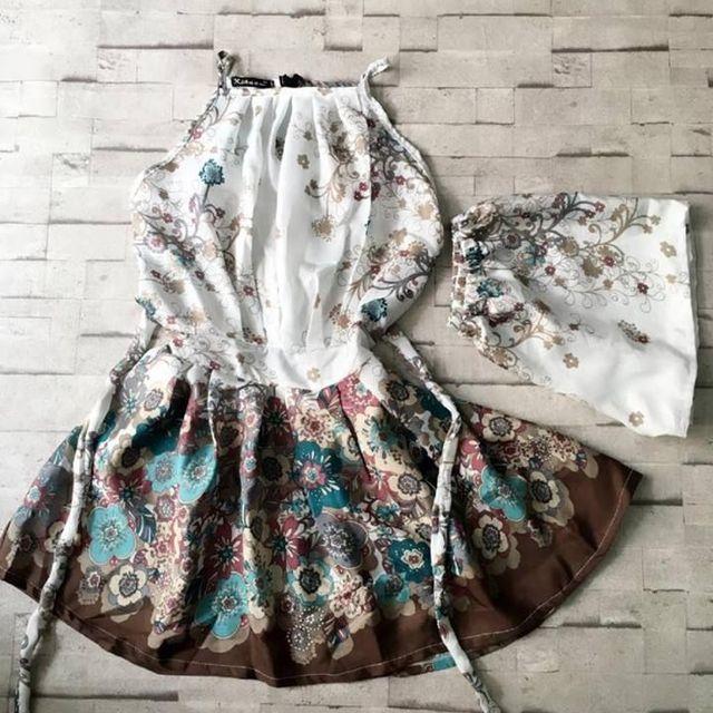 Đầm voan - jumpsuit