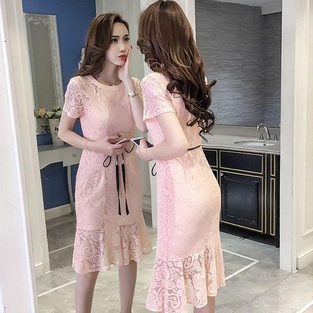 Đầm Ren Yếm Đuôi Cá Light Skin Cao Cấp - giá sỉ, giá tốt