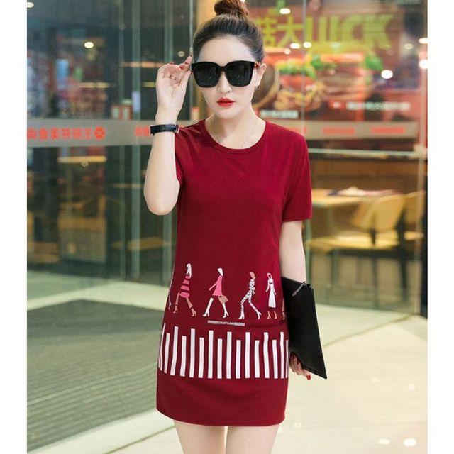 Đầm thun da cá Fashion Girls có size XXXL
