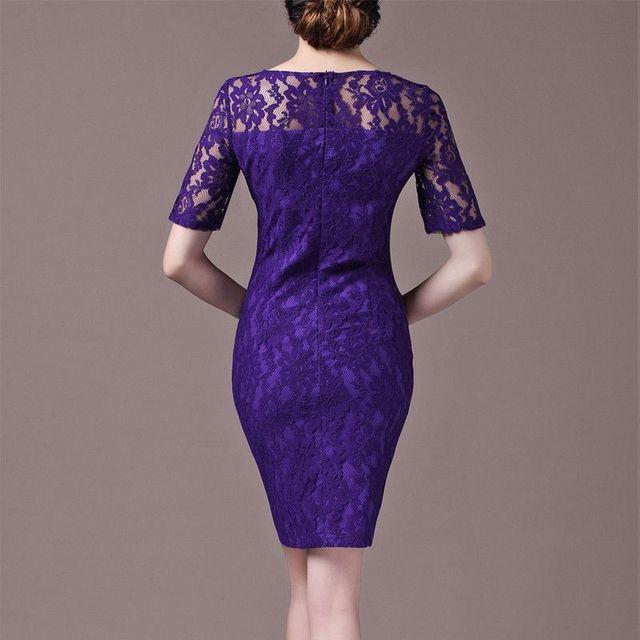 Đầm ren cao cấp Purple quyến rũ có size XXL