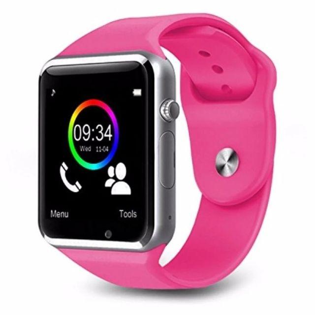Đồng hồ thông minh đa chức năng smartwatch A1 hồng giá sỉ, giá bán buôn