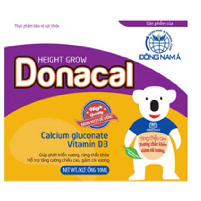 DONACAL Bổ Sung Canxi và Vitamin D cho Bé giá sỉ, giá bán buôn