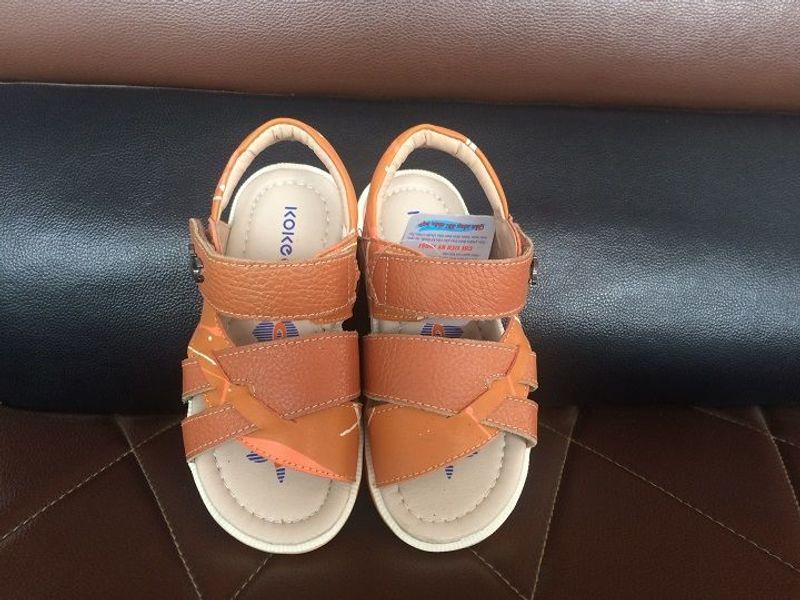 Dép sandal siêu nhẹ cho bé