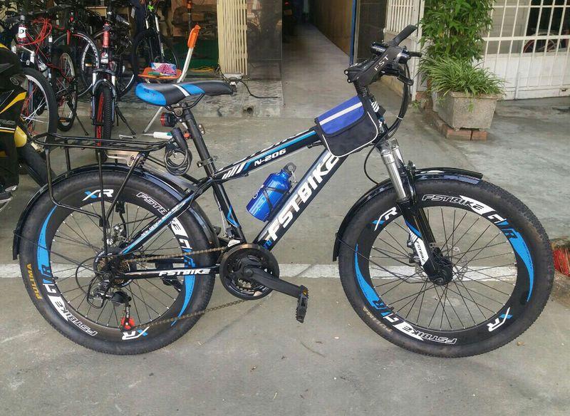 xe đạp địa hình FST N206 màu xanh dương giá sỉ, giá bán buôn