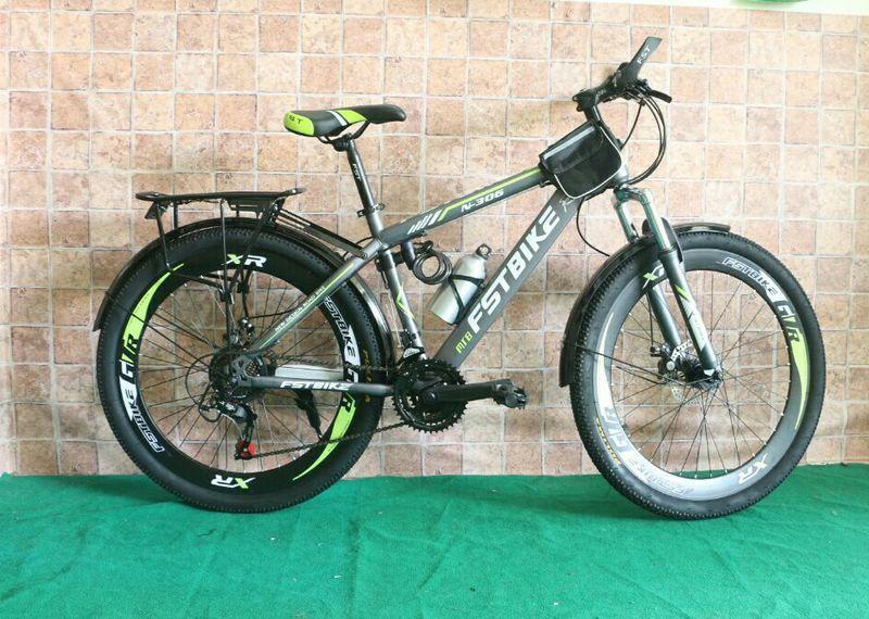 Xe đạp địa hình FST N306 màu xanh chuối từ Thái Lan giá sỉ, giá bán buôn
