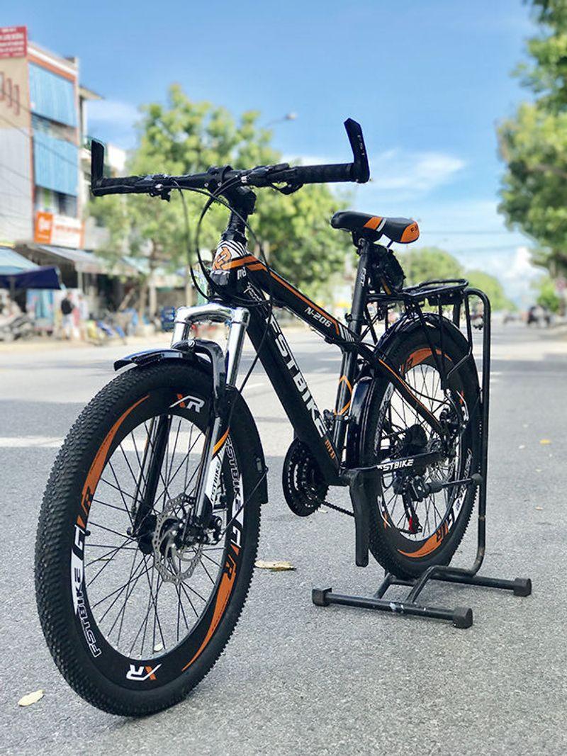 xe đạp địa hình FST N306 màu cam giá sỉ, giá bán buôn