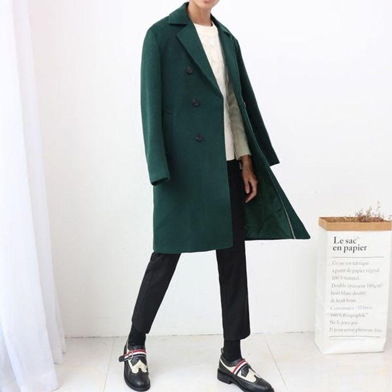 Áo Khoác Dạ Măng Tô Nam Hàn Quốc tại Hà Nội tp HCM giá sỉ, giá bán buôn