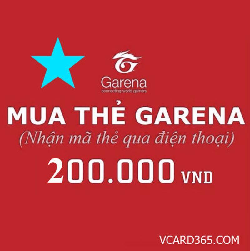 Thẻ Garena 200k