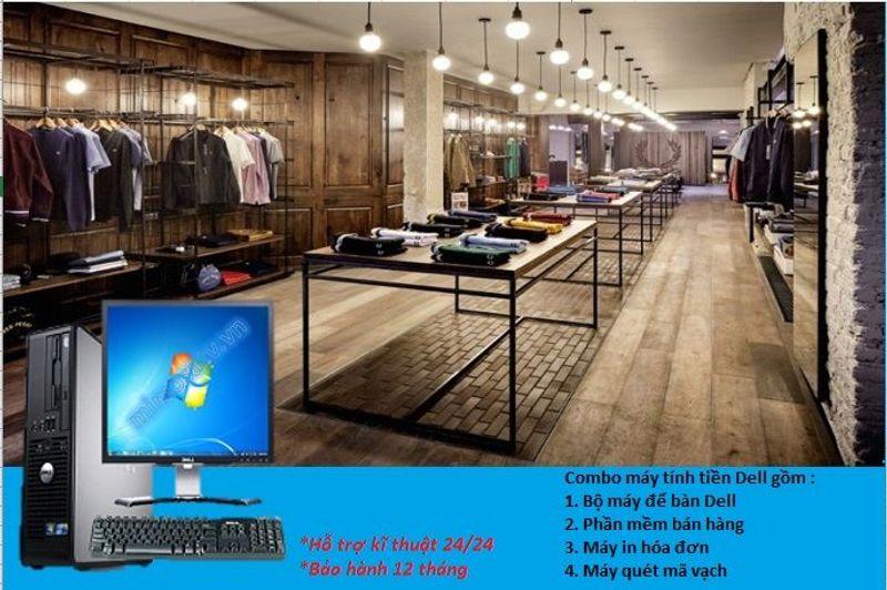 Máy tính tiền cho quần áo giá sỉ, giá bán buôn