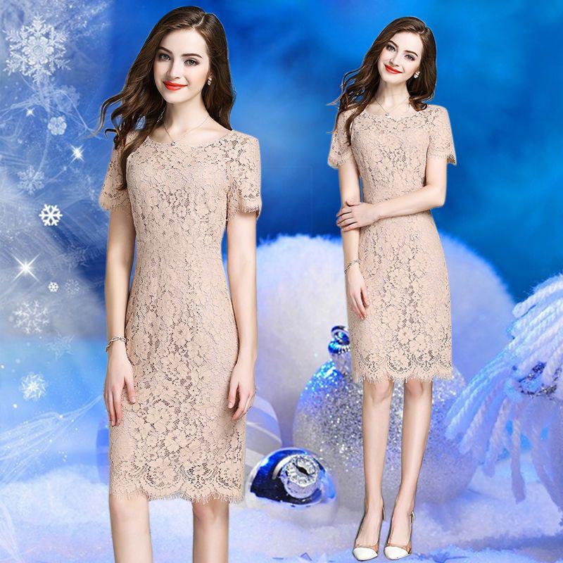 Đầm Ren Mi Màu Xanh Dự Tiệc - giá sỉ, giá bán buôn