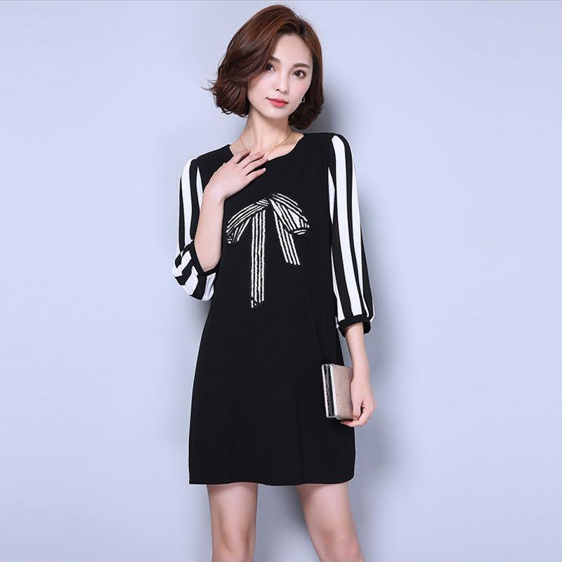 Đầm Form Rộng Kết Nơ Kim Sa - giá sỉ, giá bán buôn