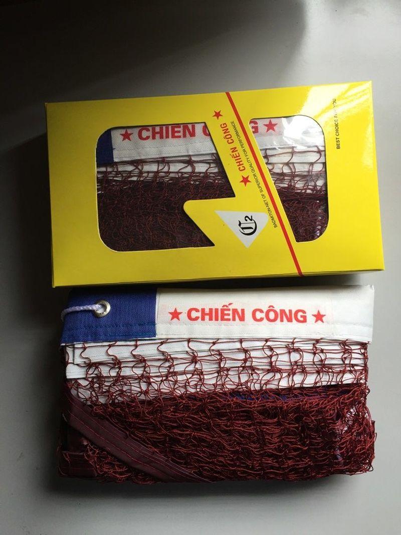 Lưới Cầu Lông Viền Da Chiến Công - Tiêu Chuẩn Thi Đấu - CL62-CC-Hộp Vàng giá sỉ, giá bán buôn