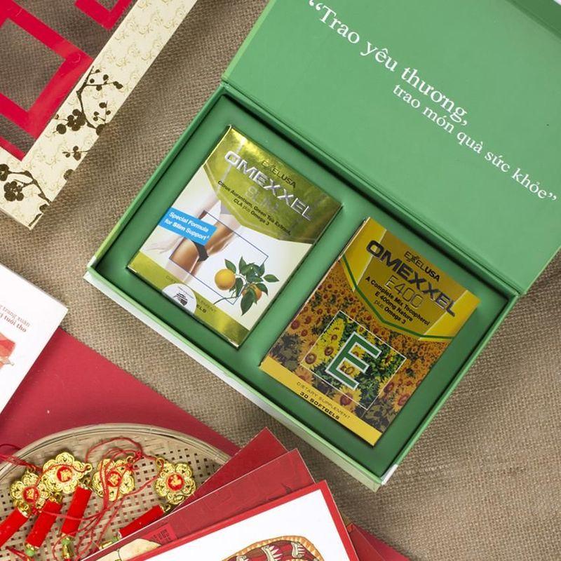 Quà tặng Tết Như Ý 2 - Thực phẩm chăm sóc sức khỏe và sắc đẹp Omexxel dành cho phái nữ - Hoa Kỳ giá sỉ, giá bán buôn
