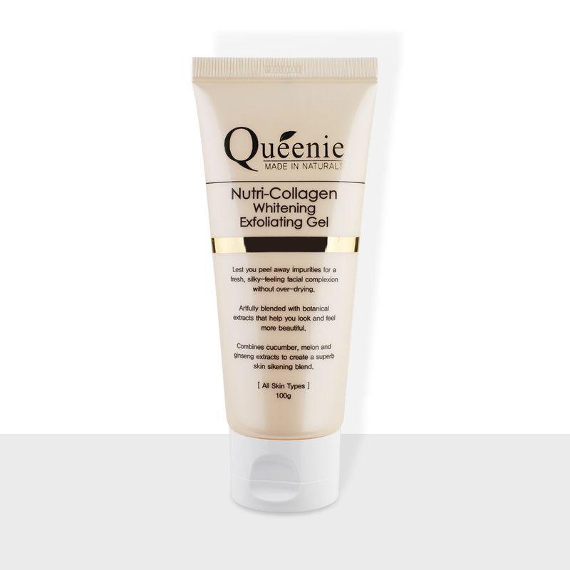 Gel tẩy tế bào chết trắng da bổ sung Collagen Queenie 100g giá sỉ, giá bán buôn