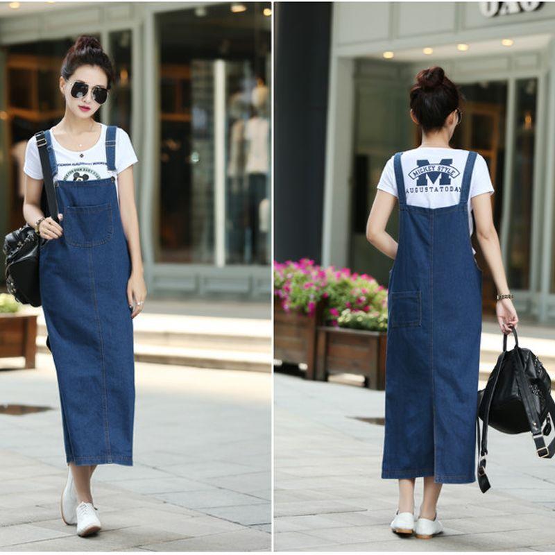 Đầm Jean Yếm Form Dài giá sỉ, giá bán buôn