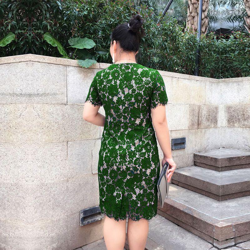 Đầm Ren Mi Màu Xanh giá sỉ, giá bán buôn