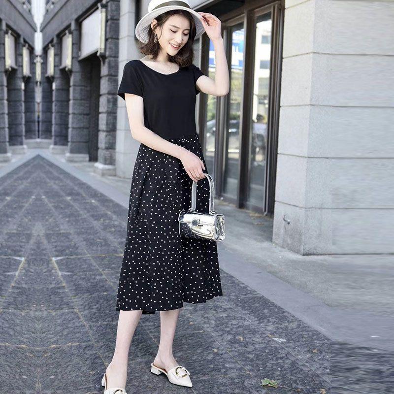 Đầm maxi chấm bi Italy giá sỉ, giá bán buôn