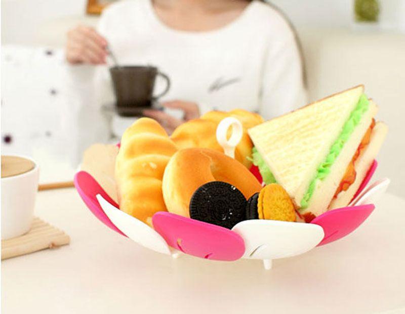 Đĩa đựng hoa quả gấp gọn nhật giá sỉ, giá bán buôn