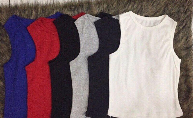 áo croptop 3 lỗ giá sỉ, giá bán buôn