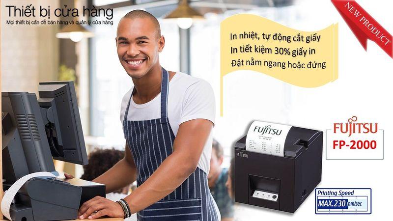 Phân phối máy in bill tính tiền Fujitsu FP-2000 giá sỉ, giá bán buôn