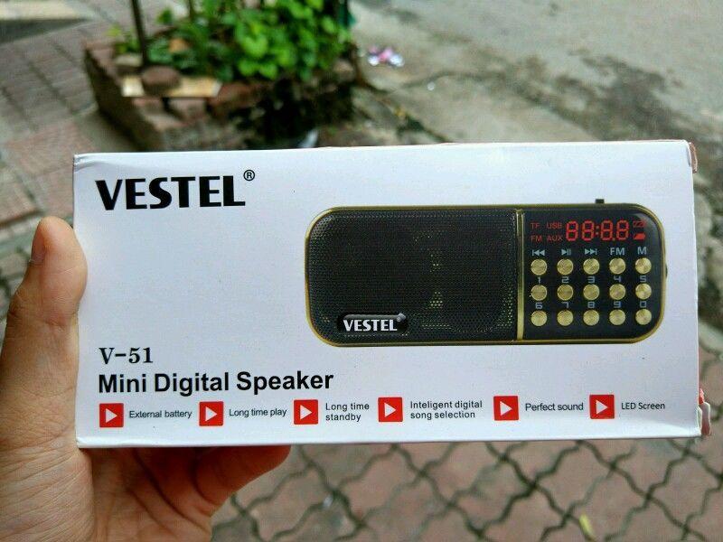 máy nghe nhạc đài FM vestel V51 giá sỉ, giá bán buôn