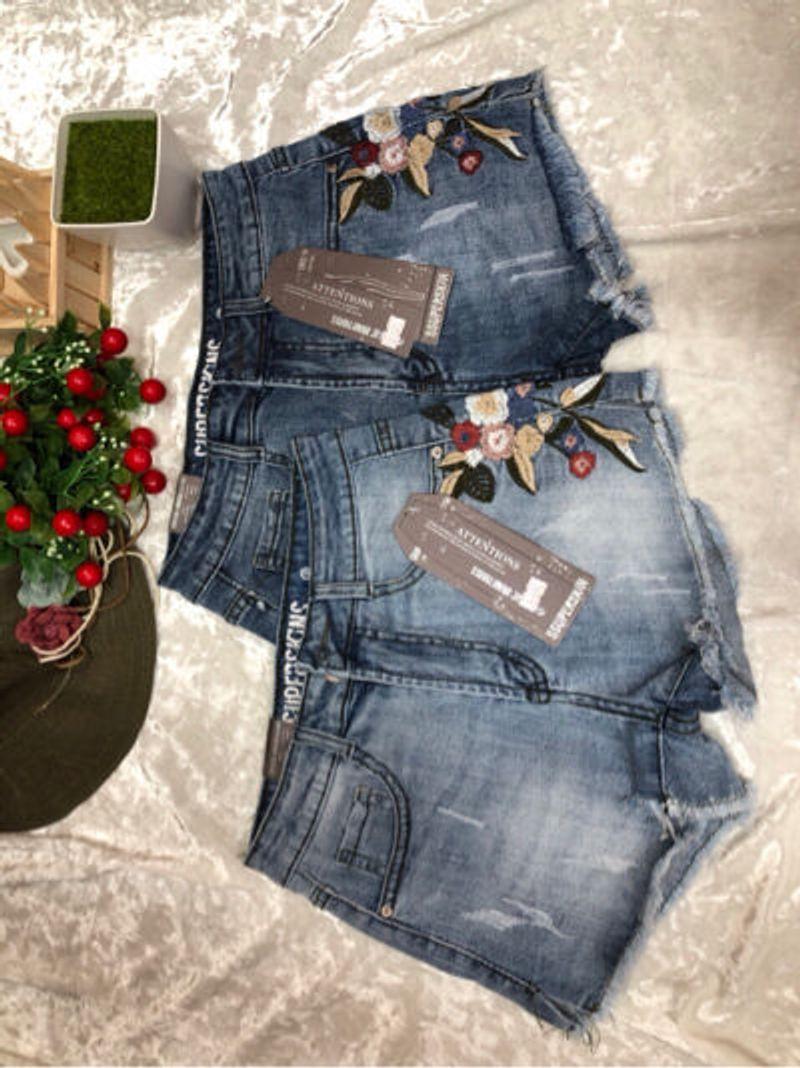 quần jean Short thêu bông giá sỉ, giá bán buôn