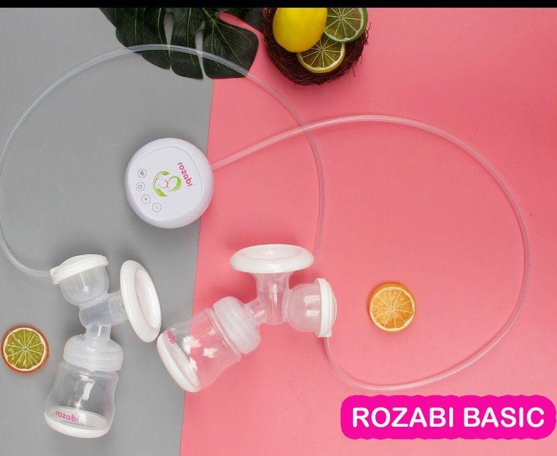 Máy hút sữa điện đôi Rozabi Basic