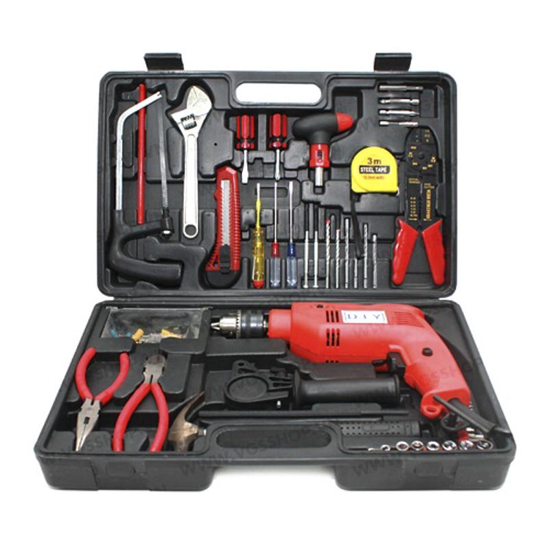 Bộ dụng cụ máy khoan cầm tay DIY 103 chi tiết giá sỉ, giá bán buôn