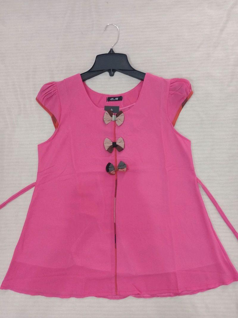 áo bầu 3 nơ hồng giá sỉ, giá bán buôn