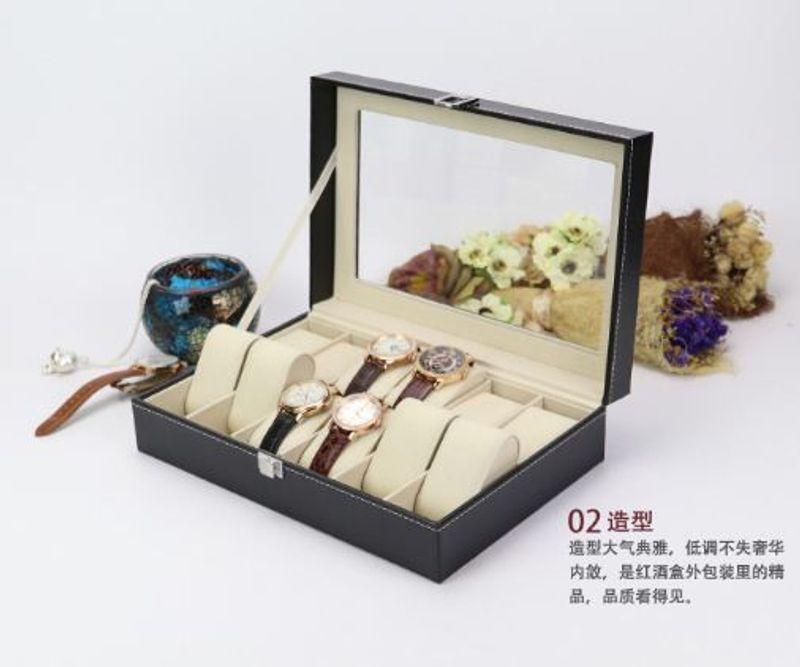 Hộp Đựng Đồng Hồ 12 Ngăn Vỏ Da giá sỉ, giá bán buôn