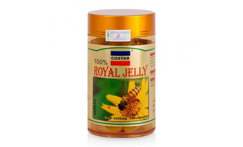 Sữa Ong Chúa Royal Jelly Soft Gel Capsules 1450mg 100 viên giá sỉ, giá bán buôn