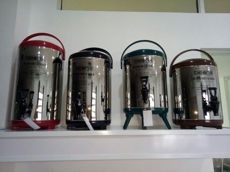 Bình ủ trà Bình giữ nhiệt - Inox thực phẩm 304 10L - BEONX giá sỉ, giá bán buôn