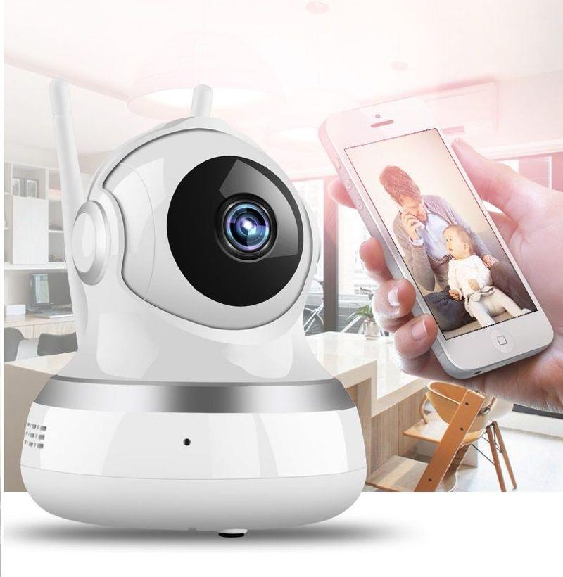 Camera Wifi không dây 2 Ăng Ten Xoay 360 Độ giá sỉ, giá bán buôn