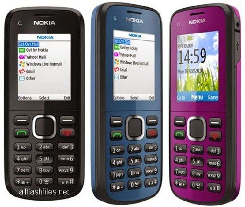 Nokia C1-02 zin nghe nhạc camera giá sỉ, giá bán buôn