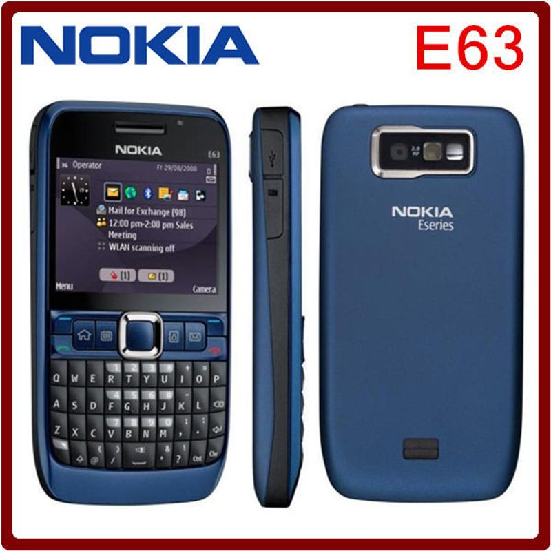 Nokia E63 Zin giá sỉ, giá bán buôn