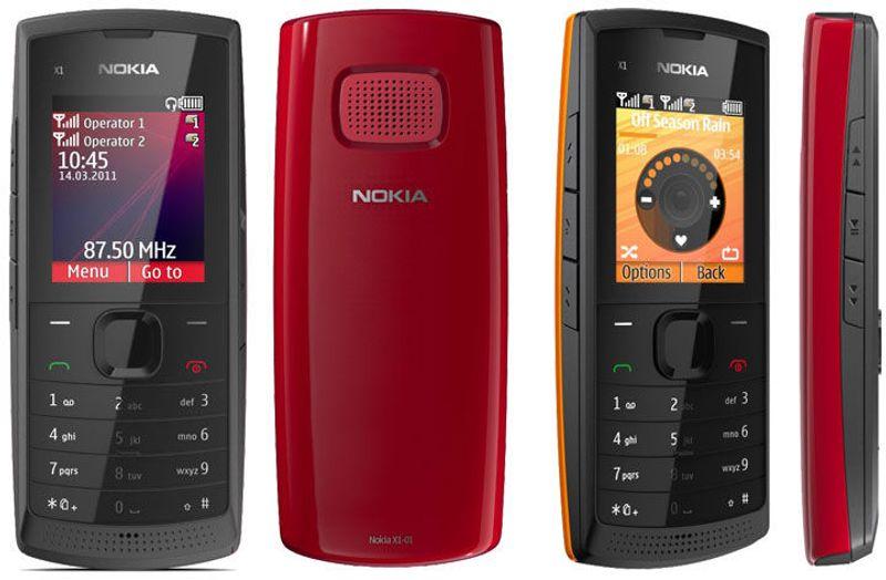 Nokia X1-01 zin 2 sim