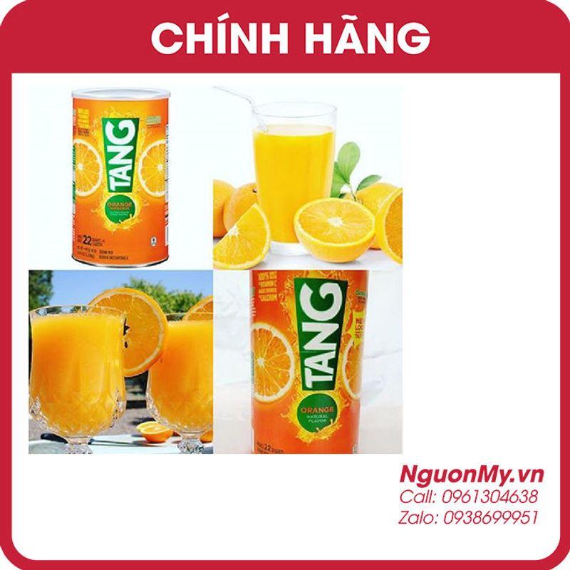 Bột pha nước cam Tang 204 kg của hãng Kraft Foods Global Mỹ Date 4/2020 giá sỉ, giá bán buôn