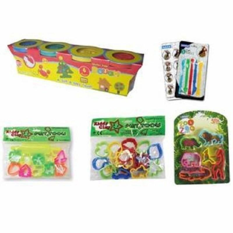 BỘT NẶN BÁNH KEM DOUGH 4 MÀU 400G DO-400-4 SP The Kiddy Clay 4-color DOUGH plastic clay 520G - Nhiều màu giá sỉ, giá bán buôn