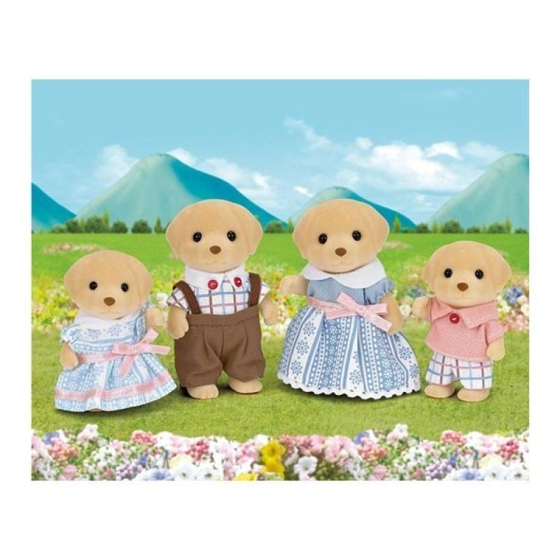 Đồ Chơi Gia Đình Nhà Chú cún Slyvanian Families - Yellow Labrador Family - Nhiều màu giá sỉ, giá bán buôn